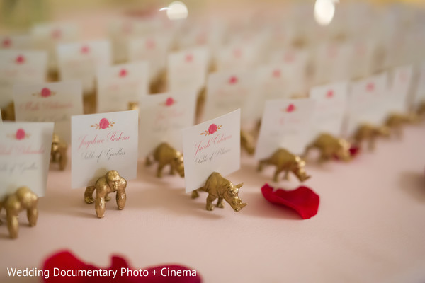 Place cards in San Francisco, CA Indian Fusion Wedding by Wedding Documentary Photo + Cinema