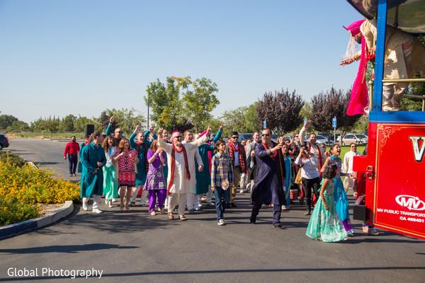 Baraat in Visalia, CA Sikh Wedding by Global Photography