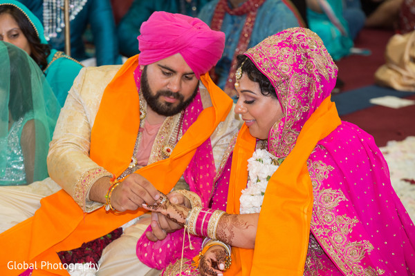 Sikh ceremony in Visalia, CA Sikh Wedding by Global Photography