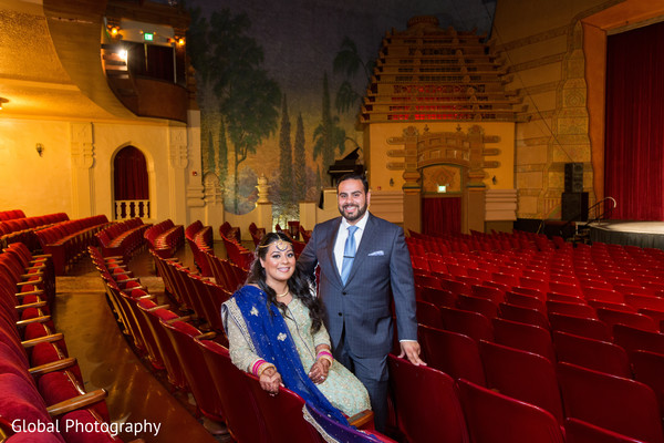 Indian reception portraits in Visalia, CA Sikh Wedding by Global Photography