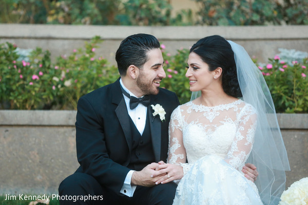 Nikkah portraits in Yorba Linda, CA South Asian Wedding by Jim Kennedy Photographers