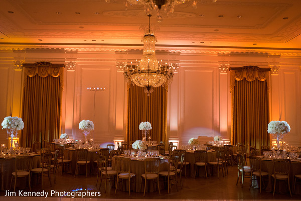 Nikkah decor in Yorba Linda, CA South Asian Wedding by Jim Kennedy Photographers