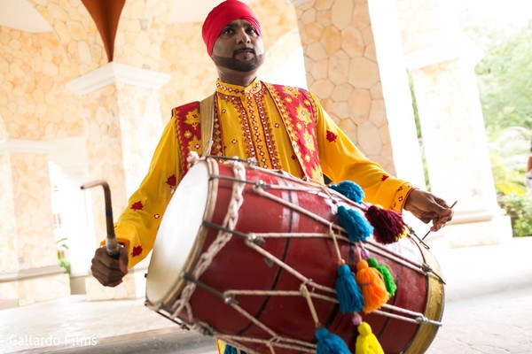 Baraat in Riviera Maya, Mexico Destination Fusion Indian Wedding by Gallardo Films