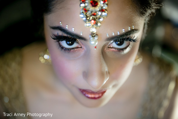 Makeup in Durham, NC Sikh Wedding by Traci Arney Photography