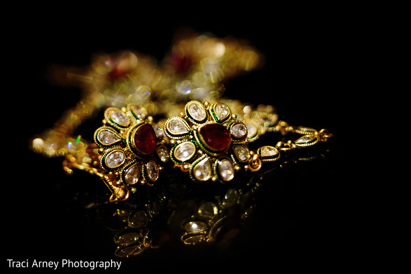 Bridal Jewelry in Durham, NC Sikh Wedding by Traci Arney Photography