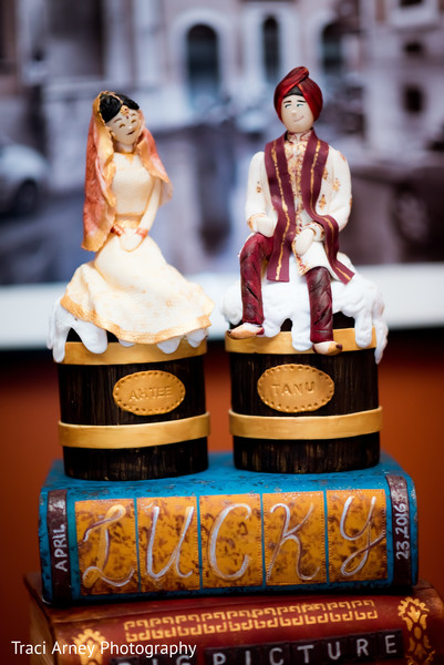 Wedding Cake in Durham, NC Sikh Wedding by Traci Arney Photography