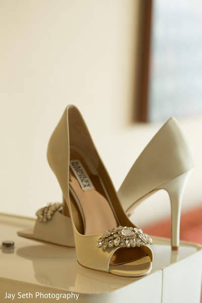 Shoes in Carle Place, NY Indian Wedding by Jay Seth Photography