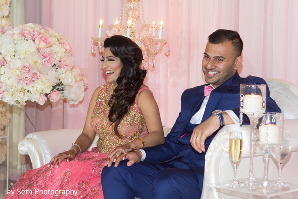 Reception in Carle Place, NY Indian Wedding by Jay Seth Photography