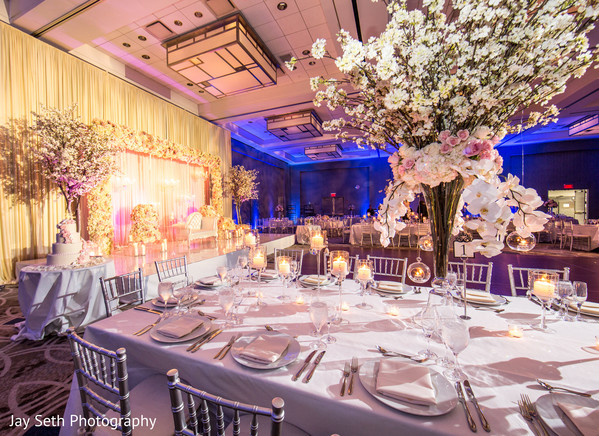 Floral & Decor in Carle Place, NY Indian Wedding by Jay Seth Photography