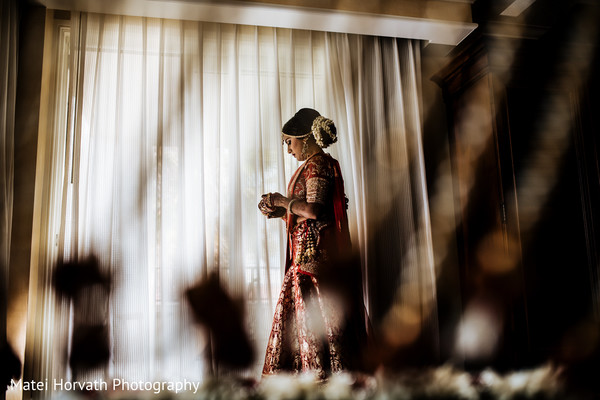Getting ready in Huntington Beach, CA Indian Wedding by Matei Horvath Photography