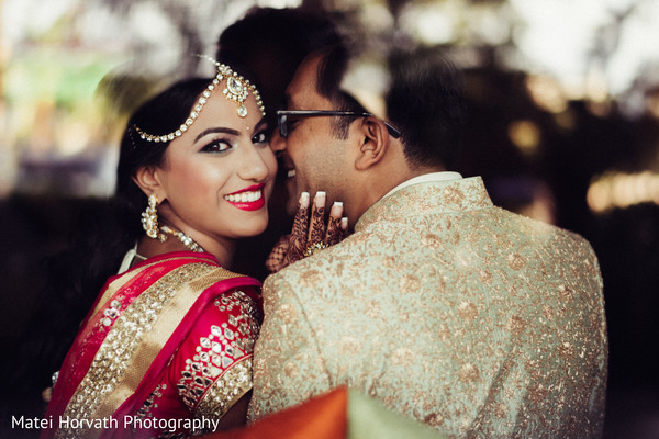 Pre-wedding portraits in Huntington Beach, CA Indian Wedding by Matei Horvath Photography