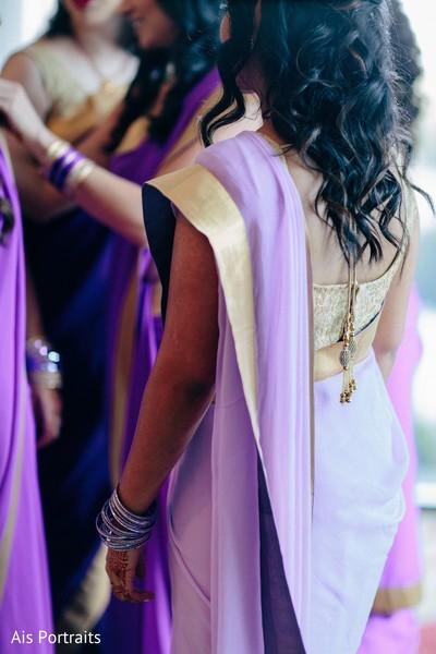 Getting Ready in Orlando, FL Indian Fusion Wedding by Ais Portraits