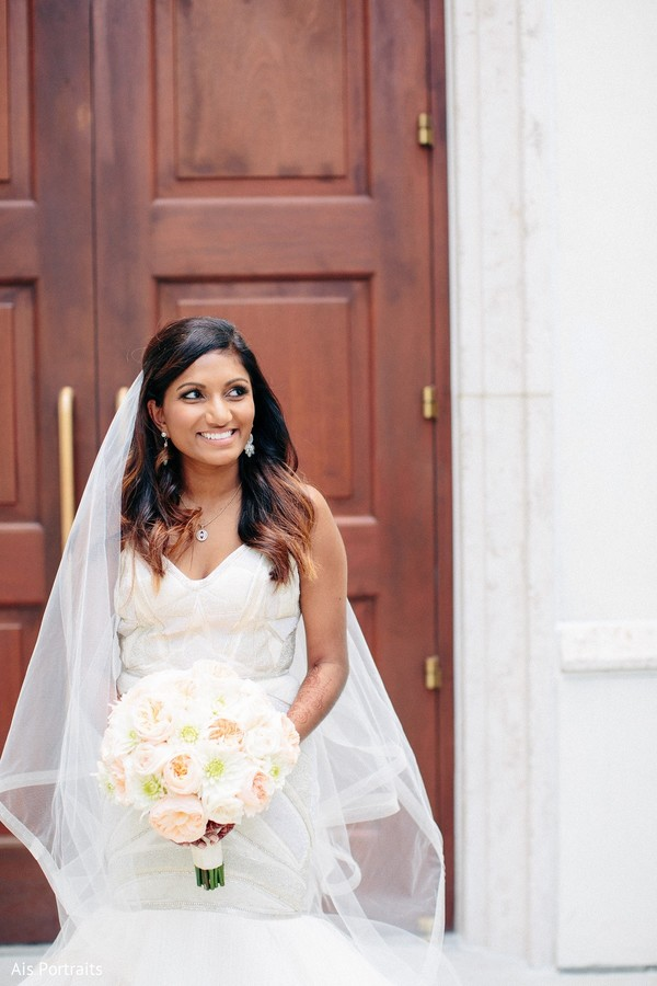 Bridal Portrait in Orlando, FL Indian Fusion Wedding by Ais Portraits