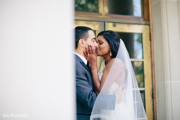 Wedding Portrait in Orlando, FL Indian Fusion Wedding by Ais Portraits