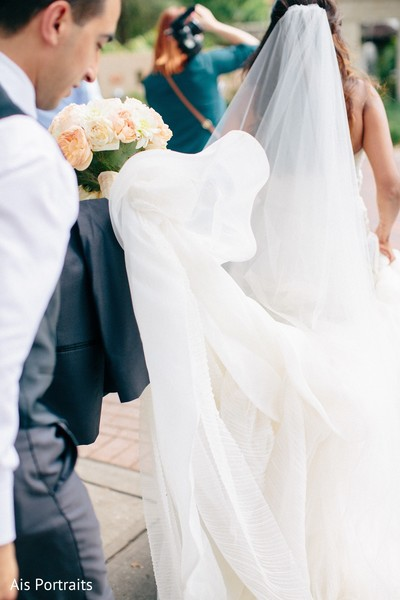 Wedding Portrait in Orlando, FL Indian Fusion Wedding by Ais Portraits