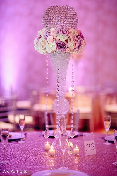 Floral & Decor in Orlando, FL Indian Fusion Wedding by Ais Portraits