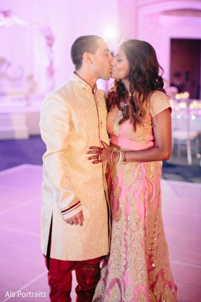 Reception in Orlando, FL Indian Fusion Wedding by Ais Portraits