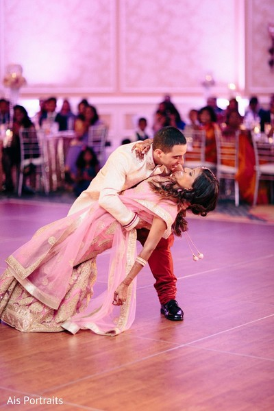 Reception in Orlando, FL Indian Fusion Wedding by Ais Portraits