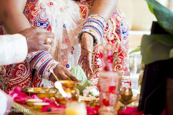 Hindu ceremony in New York, NY Indian Wedding by MaxPhoto NY