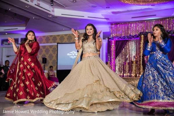 Reception in Charlotte, NC Indian Wedding by Jamie Howell Wedding Photography