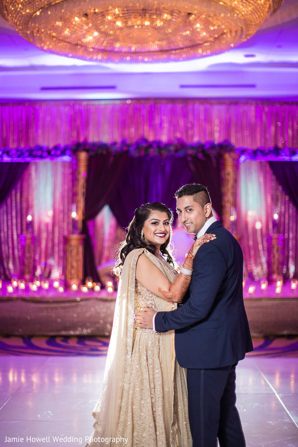 indian reception portraits,indian wedding reception portraits
