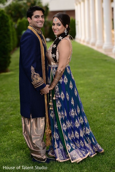 Pre-Wedding Portrait in Woodbury, NY Indian Wedding by House of Talent Studio