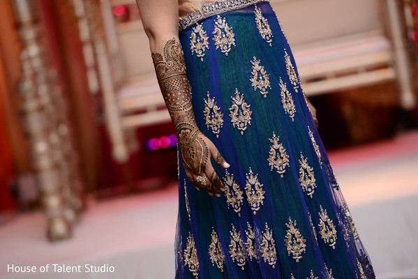 Mehndi in Woodbury, NY Indian Wedding by House of Talent Studio