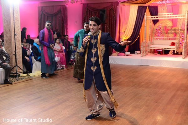 Sangeet in Woodbury, NY Indian Wedding by House of Talent Studio