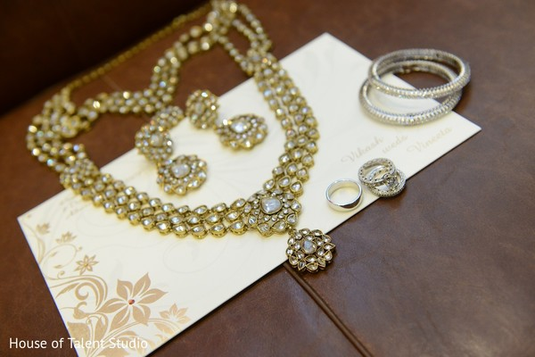 Bridal Jewelry in Woodbury, NY Indian Wedding by House of Talent Studio