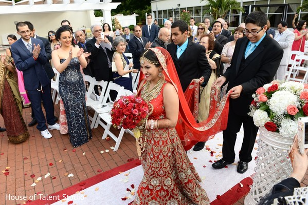 Ceremony in Woodbury, NY Indian Wedding by House of Talent Studio