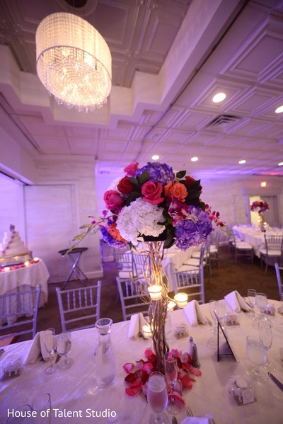 Floral & Decor in Woodbury, NY Indian Wedding by House of Talent Studio