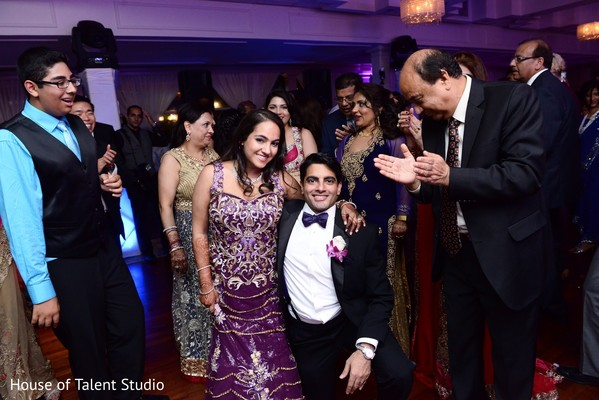 Reception in Woodbury, NY Indian Wedding by House of Talent Studio