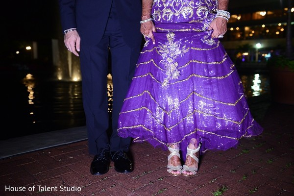 Recepion in Woodbury, NY Indian Wedding by House of Talent Studio