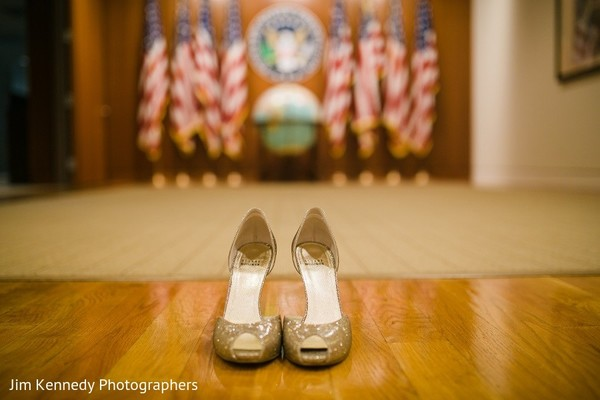 Shoes in Yorba Linda, CA Indian Fusion Wedding by Jim Kennedy Photographers