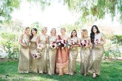 bridal party,bridesmaids,bridesmaids fashions,bridesmaids dresses,bridal party fashions,bridal party dresses,fusion wedding,fusion indian wedding