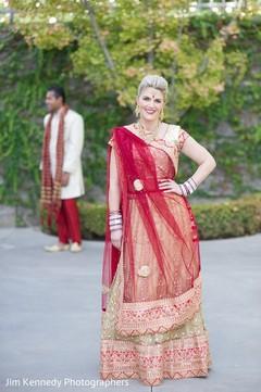 fusion wedding,fusion indian wedding,first look,first look portraits,wedding lengha,bridal lengha,lengha,indian wedding lengha,lehenga,wedding lehenga,bridal lehenga,bridal fashions