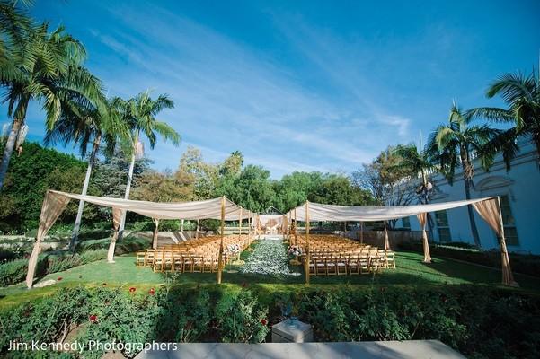 Venue & Decor in Yorba Linda, CA Indian Fusion Wedding by Jim Kennedy Photographers