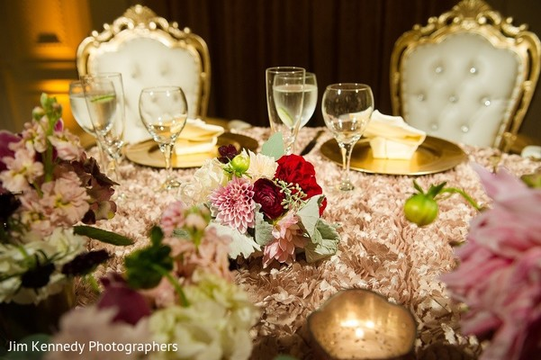 Floral & Decor in Yorba Linda, CA Indian Fusion Wedding by Jim Kennedy Photographers