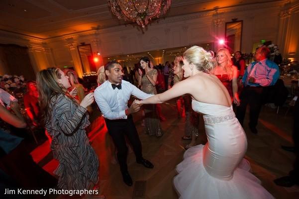 Reception in Yorba Linda, CA Indian Fusion Wedding by Jim Kennedy Photographers