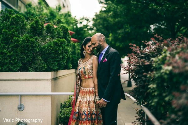 Portraits in Charlotte, NC Indian Wedding by Vesic Photography