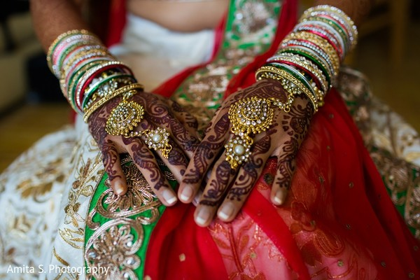 Mehndi & Jewelry in Fort Lauderdale, FL Indian Wedding by Amita S. Photography
