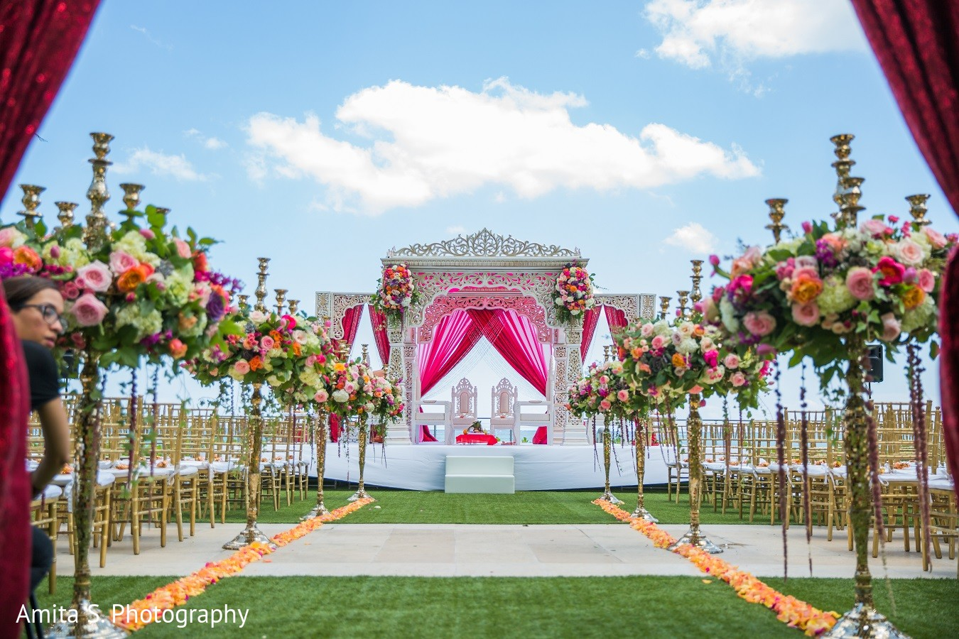 Reception Ceremony In Hindi: Fort Lauderdale, FL Indian Wedding By Amita S. Photography