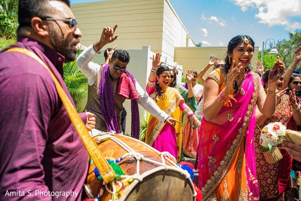 Baraat in Fort Lauderdale, FL Indian Wedding by Amita S. Photography