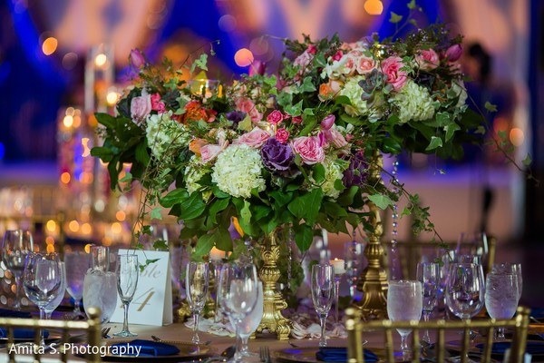 Floral & Decor in Fort Lauderdale, FL Indian Wedding by Amita S. Photography