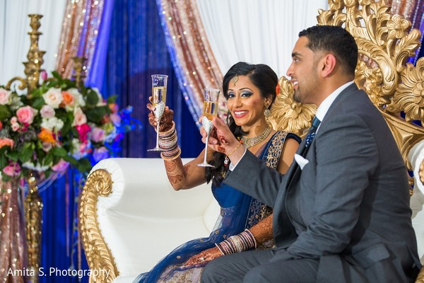 Reception in Fort Lauderdale, FL Indian Wedding by Amita S. Photography