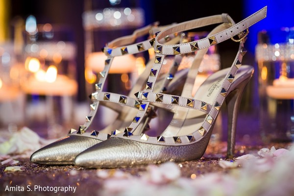Shoes in Fort Lauderdale, FL Indian Wedding by Amita S. Photography