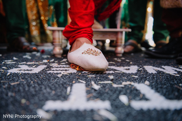 Baraat in Bridgewater, NJ Indian Wedding by NYNJ Photography