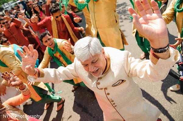 Baraat in Bridgewater, NJ Indian Wedding by NYNJ Photography