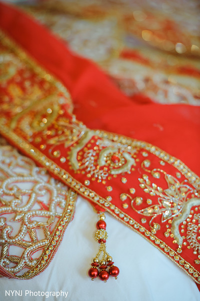 Dupatta in Bridgewater, NJ Indian Wedding by NYNJ Photography