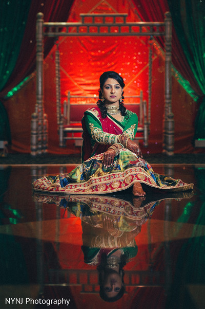 Pre-wedding portraits in Bridgewater, NJ Indian Wedding by NYNJ Photography